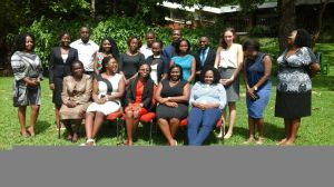 Participants at the Youth Consultative Conference