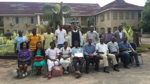 Duty bearers at the training on child rights and protection in Mulanje District